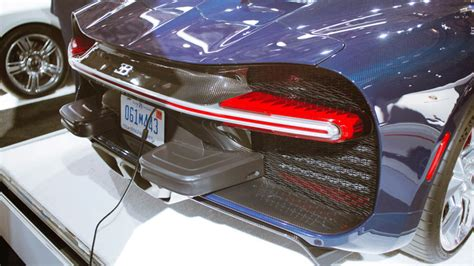 These are the ugly bumpers bugatti has to put on the chiron for america european car design doesnt revolve around us federal bumper requirements so bugatti customers get these ugly lumps on. Here's The Bugatti Chiron's Tacked-On American-Market Bumper Lumps