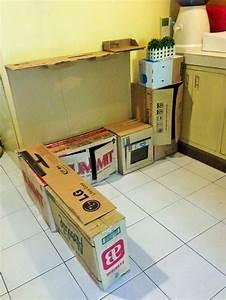 Partytheke Selber Bauen : kinderk che selber bauen aus karton eine einfache bauanleitung ~ Markanthonyermac.com Haus und Dekorationen