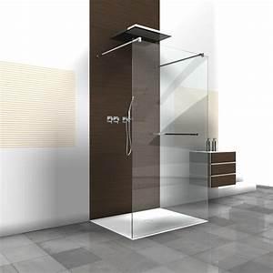 Handtuchhalter Für Dusche : rahmenlose duschwand walk in dusche als duschabtrennung ~ Indierocktalk.com Haus und Dekorationen