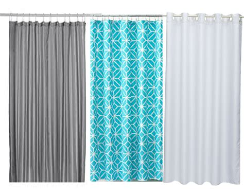 what material are shower curtains made of curtain