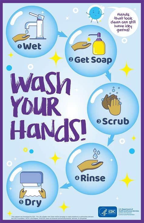 imagen lava tus manos imagenes  imprimir gratis