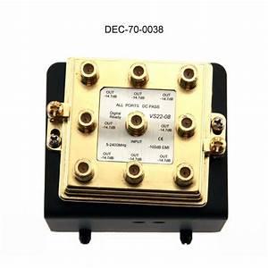 Datacomm U2122 Home Command Center Coaxial Splitter Modules