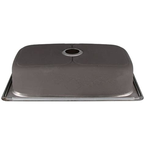 overmount stainless steel sink ticor s994 overmount stainless steel single bowl kitchen sink