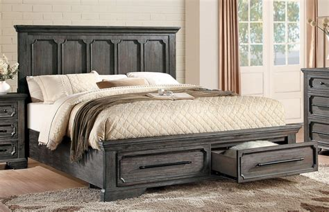acacia wood bedroom set toulon bedroom 5438 in acacia wood by homelegance w options