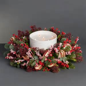 our sophie conran candle wreaths wild at heart wild at heart