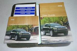 Buy 2014 Jeep Compass User Guide Owners Manual Set 14 Dvd