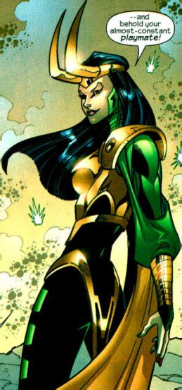 sylene mc avengers foe daughter  loki
