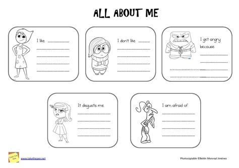 all about me inside out insideout school