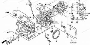 Honda Scooter 2012 Oem Parts Diagram For Crankcase