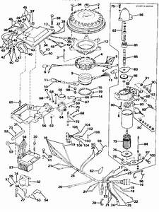 Johnson Ignition System  U0026 Starter Motor Parts For 1989