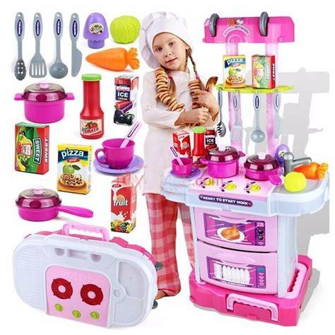 cocina de juguete  ninas  en   cheff