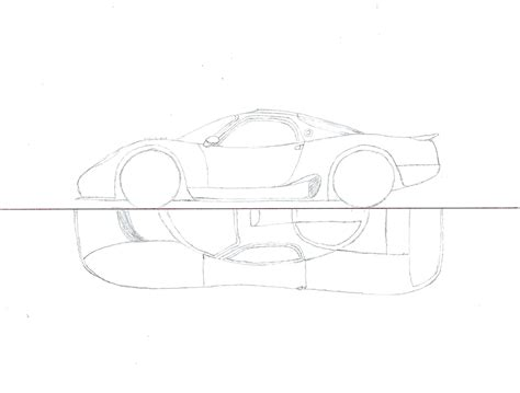 Random Supercar Drawing By Venom800tt On Deviantart