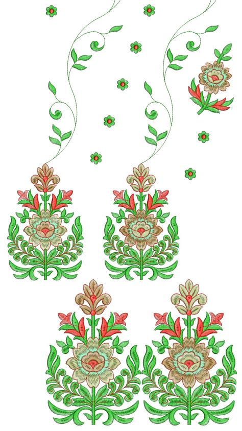embroidery designs free embdesigntube daman 250 top dupatta embroidery design