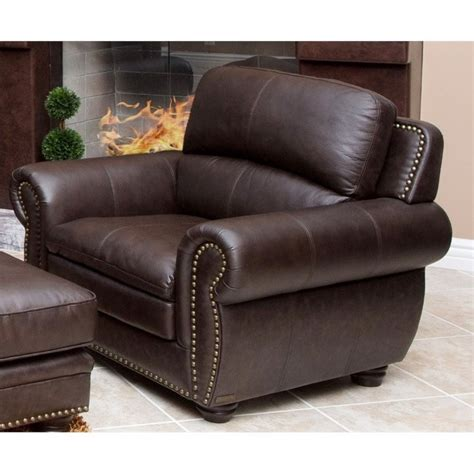 abbyson living leather sofa abbyson living harrison 4 piece leather sofa set in brown