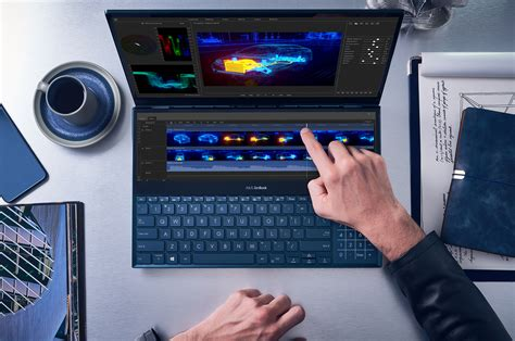 asus zenbook pro duo   offer   productive alternative   macbook pros touch