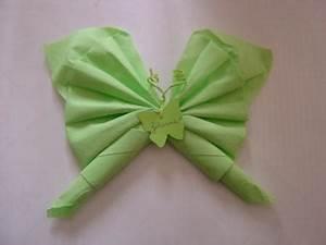 Pliage De Serviette Papillon : les pliages de serviettes par notre mariage 2010 blog pas de calais ~ Melissatoandfro.com Idées de Décoration