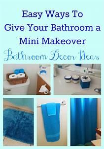 Easy bathroom decor ideas for Easy bathroom decorating ideas