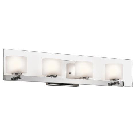 kichler 45173ch como halogen bathroom vanity light