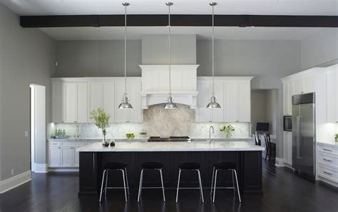 black  white kitchen cabinets contemporary kitchen kelly moore seattle fautt homes