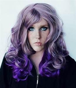 SALE // Lilac Frost // Lavender Pastel Purple Ombre Hair ...