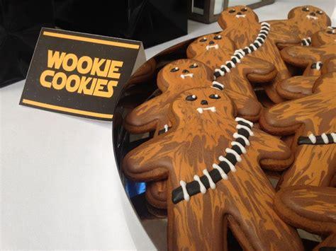 star wars cookies chewbacca wookie cookies star wars
