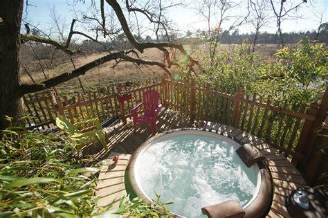 chambre avec spa privatif sud ouest deux cabanes perchées dans les arbres en gironde avec spa