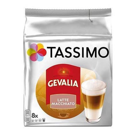 Espresso Latte Macchiato Tassimo by Tassimo Gevalia Latte Macchiato