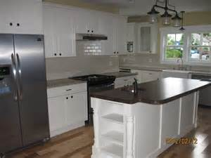 kitchen islands with posts painted island posts accentuate in modern kitchen osborne wood