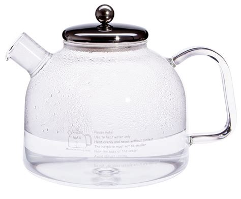 kettle glass cup stove stainless steel water german lid natural