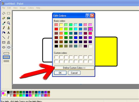 how to use microsoft paint in windows 6 steps