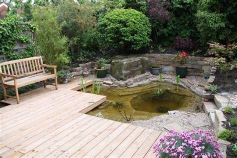 Teich Auf Terrasse by Terrasse 13 Garten Teich Natur Terrasse Deck Padio