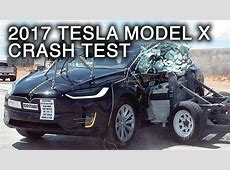 Tesla Model X = Safest SUV Ever, Because Some Humans Have