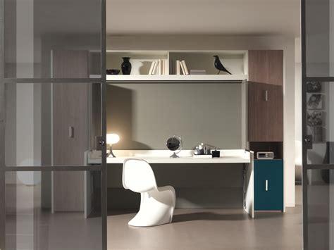 armoire lit bureau escamotable lit escamotable bureau york 140x200 cm york