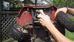 Honda Htr-3009 Riding Mower Sticky Steering Fix