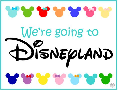 You Re Going To Disneyland Printable Disney Themed Scavenger Hunt Free Clues Featuring Your