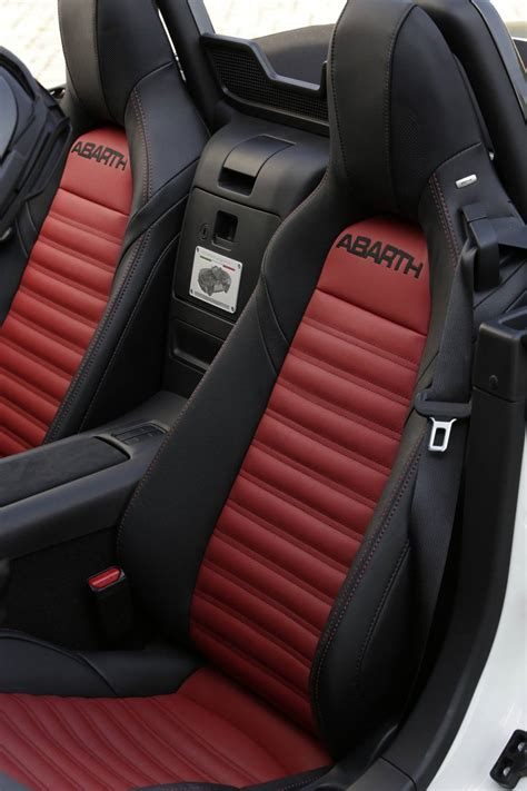 Fiat Spider Seats by Performance Specifications Confirmed For Abarth 124 Spider