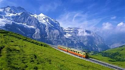 Switzerland Places Miss Scenery Desktop Snow Alpine