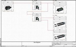 Solidworks Electrical 2d  Line Diagram Drawings  U0026 Locations