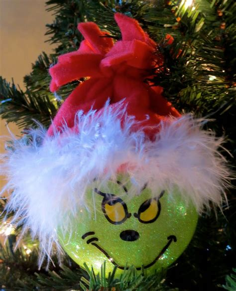 the grinch christmas ornament