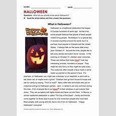 Middle School Halloween Activity Sheets  Festival Collections