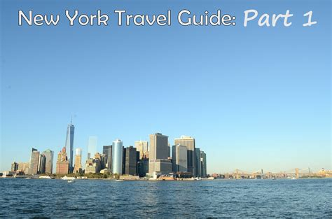 New York Travel Guide Part 1  Budget And The Bees