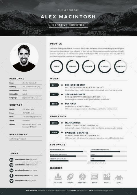 Buy Cv Template by Professional Cv Template Bundle Cv Package With Cover