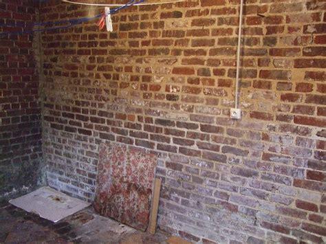trompe l oeil cuisine mur de brique