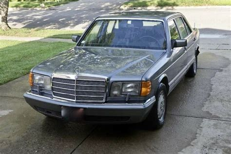 old car owners manuals 1988 mercedes benz s class transmission control 1988 mercedes benz 560sel 1 owner 37k miles fully documented pristine classic 1988 mercedes
