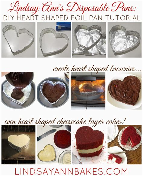 {video} Diy Disposable Baking Pans (heart Shaped Foil Pans