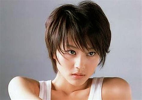 Korea Girl Hairstyle Short Cut   Inofashionstyle.com