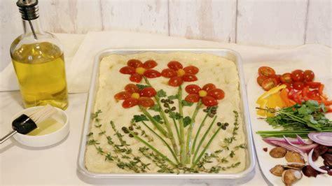 bread art    decorate focaccia bread lifesavvy