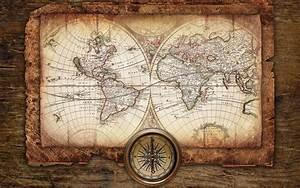 Antique, Map, Wallpaper, Hd
