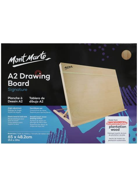 mont marte drawing board   band table easel