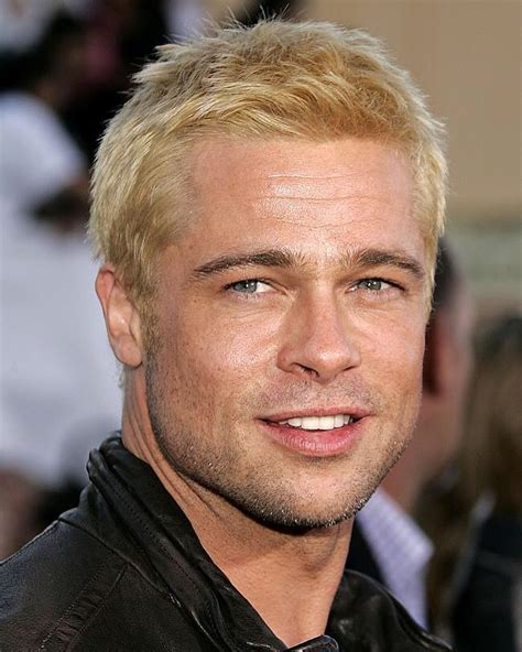 brad pitts hairstyles
